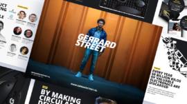 Gerrard Street slidedeck