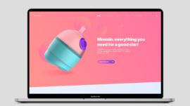 NiMMin concept 2 - Webpage